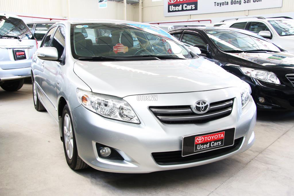 2009 Toyota Corolla Altis 1.8G AT