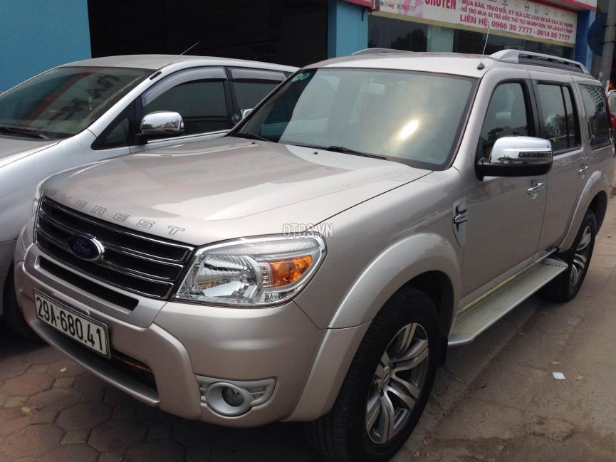 2013 Ford Everest Limited 4x2