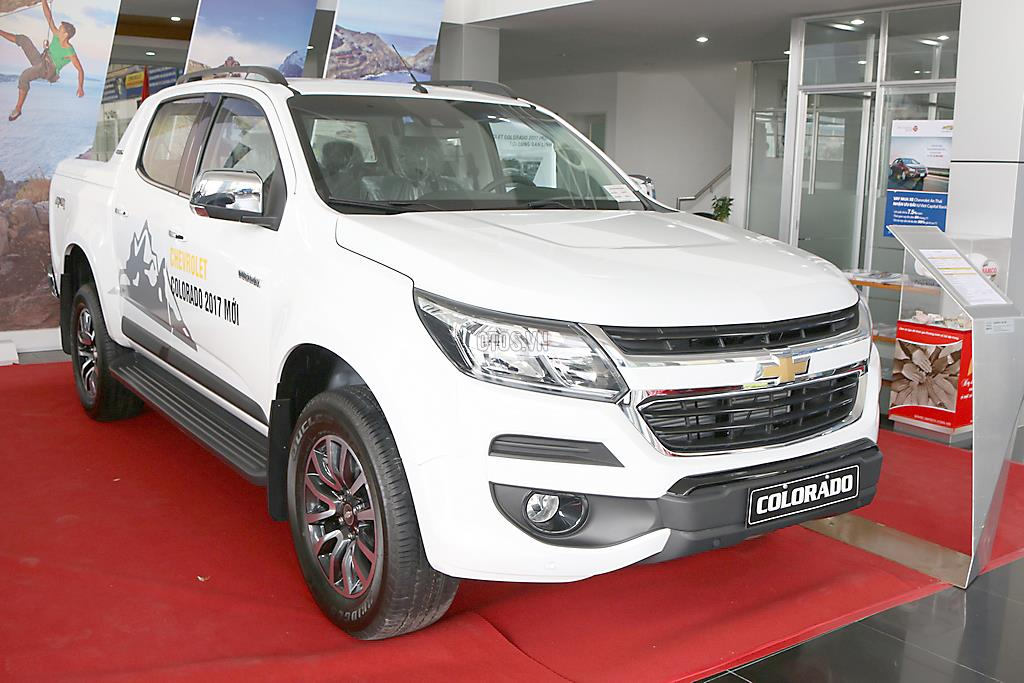2017 Chevrolet Colorado High Country 2.8 AT 4x4