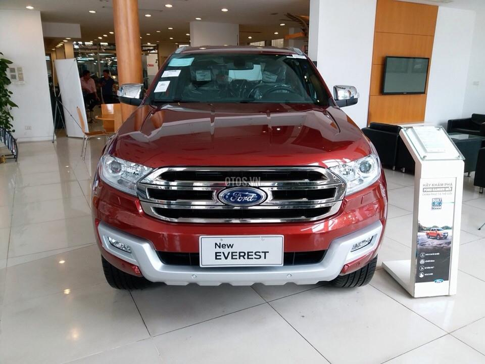 2017 Ford Everest 2.2 AT Titanium